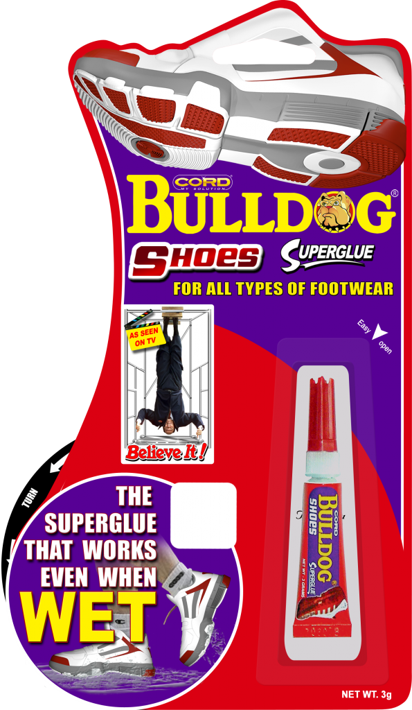 Bulldog Shoes Cord Chemicals Inc